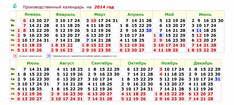 Календарь на 2014 год скачать